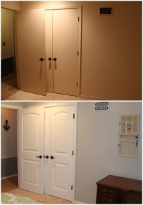 new doors have transformed all rooms, including guest room #1