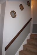 stairways include Jared's new handrails